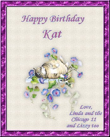 Happy Birthday Kat