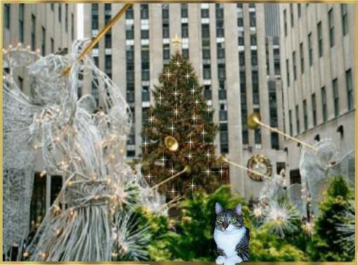 NYC Christmas Tree 2001