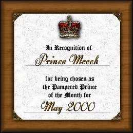 Prince of the Month Award