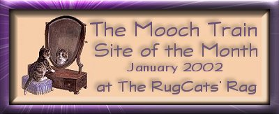 Rug Cats Site of the Month January 2002